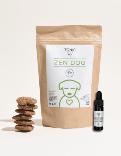 zen-dog grounded-tonic pet health cbd bundle
