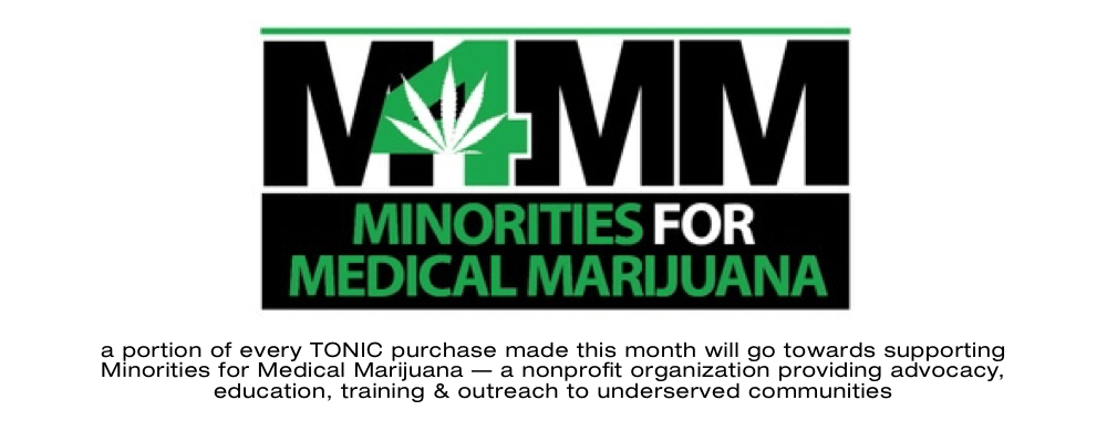 minorities-for-medical-marijuana tonic february nonprofit partner