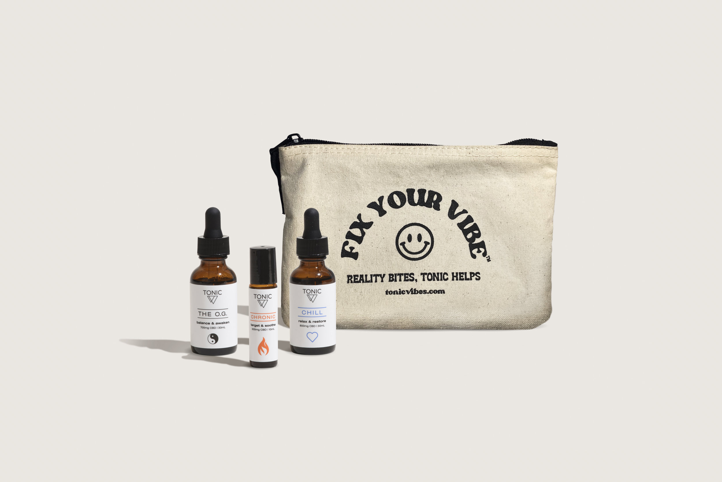 good-vibe-tribe TONIC cbd multi pack chill og chronic