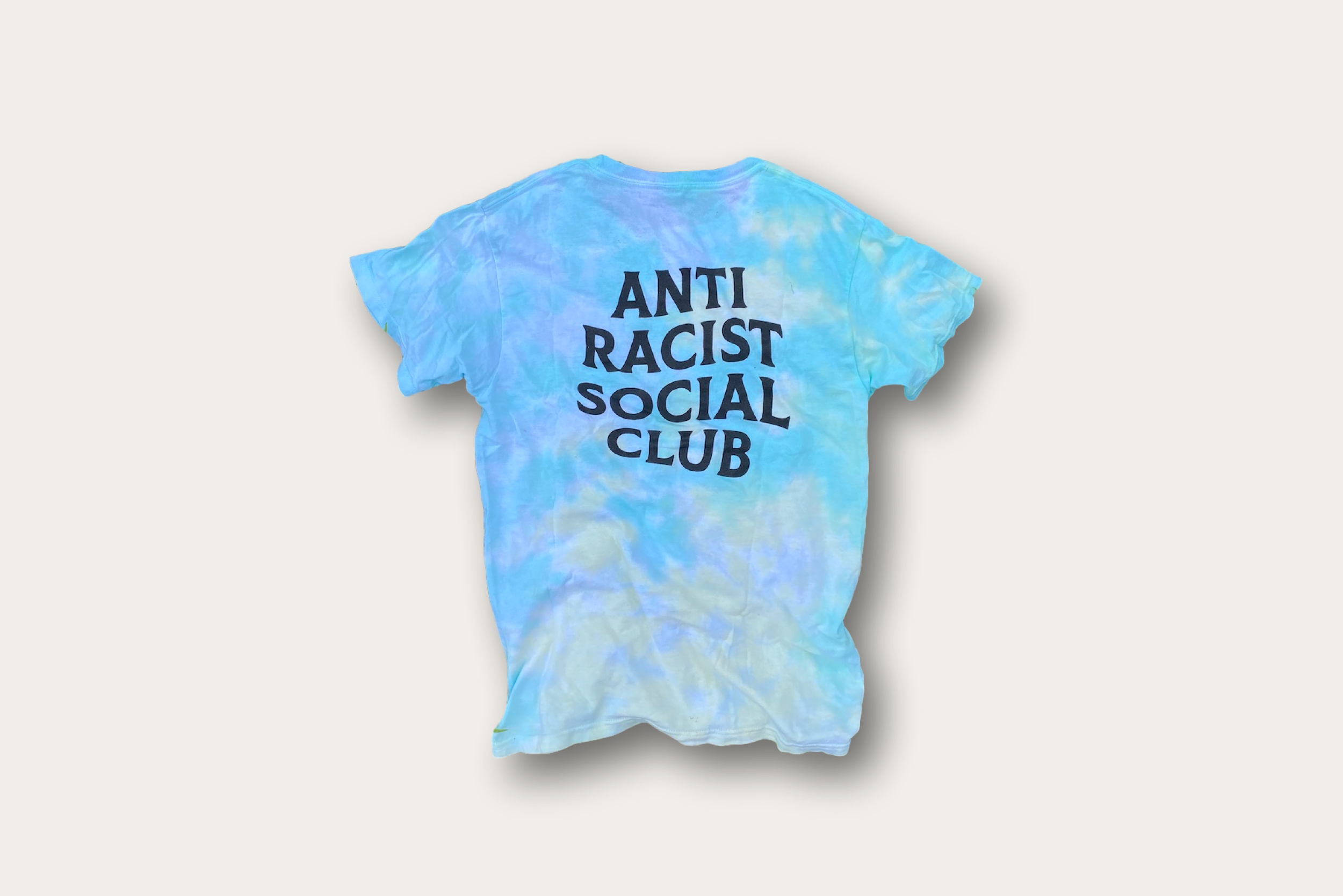 anti racist social club tee
