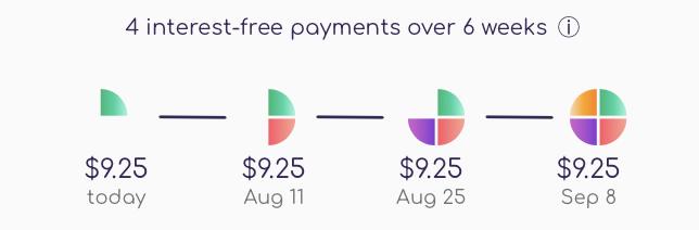 sezzle payment plan